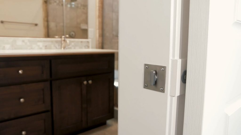 Inox Privacy Barn Door Lock