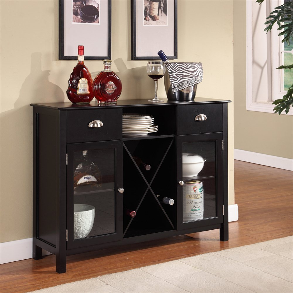 Kb Furniture Buffet Serverwine Rack Lowes Canada
