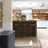 Kbbark 11 Kitchens That Show Exposed Brick Might Be What Your Cook