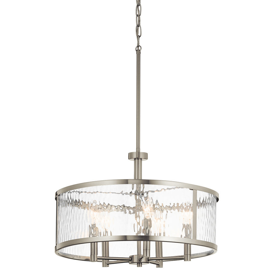 Kichler Marita Brushed Nickel Multi Light Transitional Clear Glass