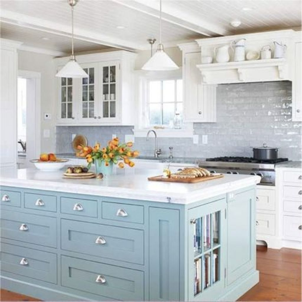 Kitchen Beach Style Kitchen Ideas Cottage Themed Items Coastal