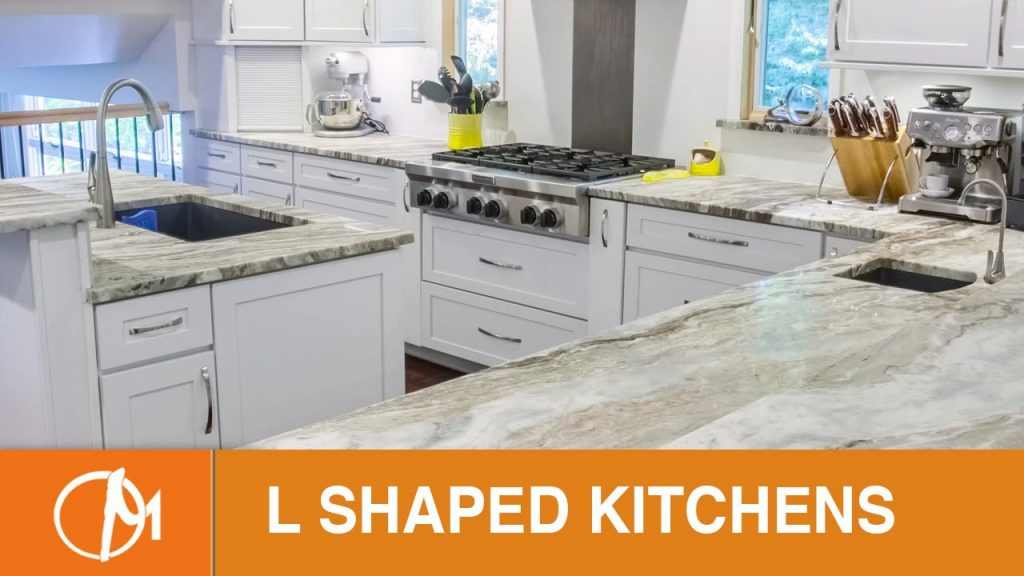 L Shaped Kitchens With Islands Design Montage
