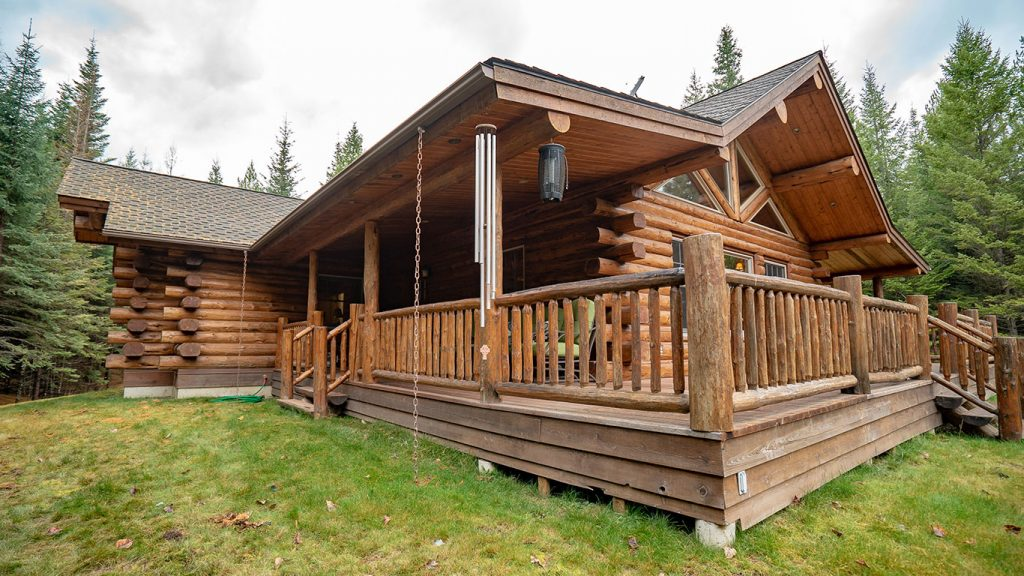 Lake Creek Meadowlark Log Homes