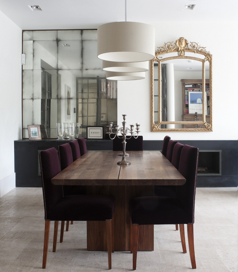 Large Dining Room Mirror Decorative Mirrors For Living Decorating