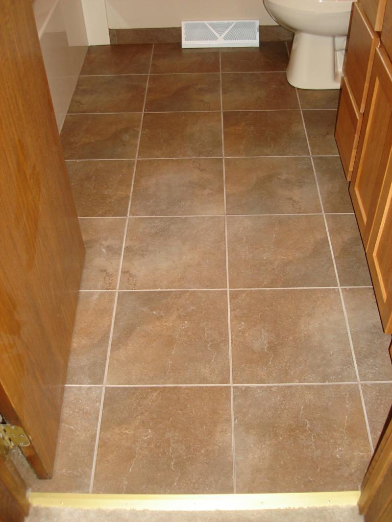 Light Brown Bathroom Floor Tiles Dark Brown Bathroom Floor Tile Layjao