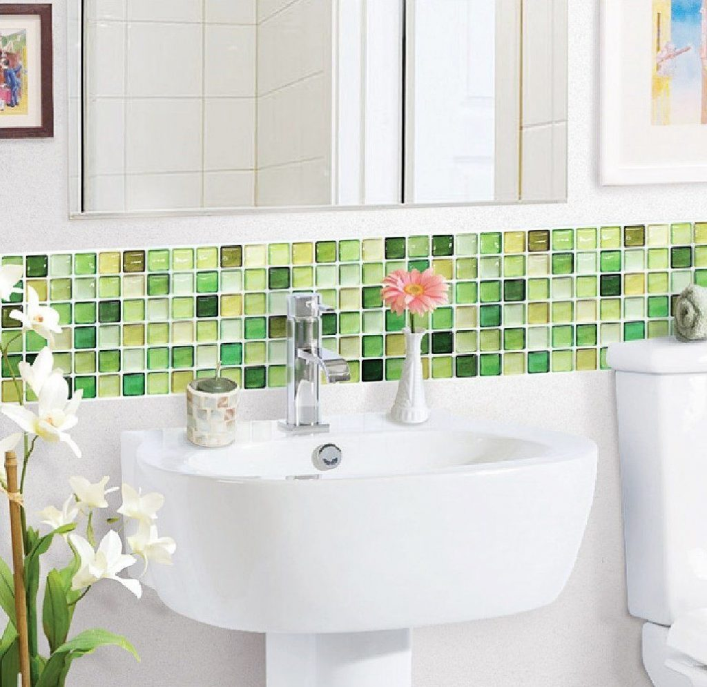 Lime Green Glass Tiles Ideas And Products Interior Green