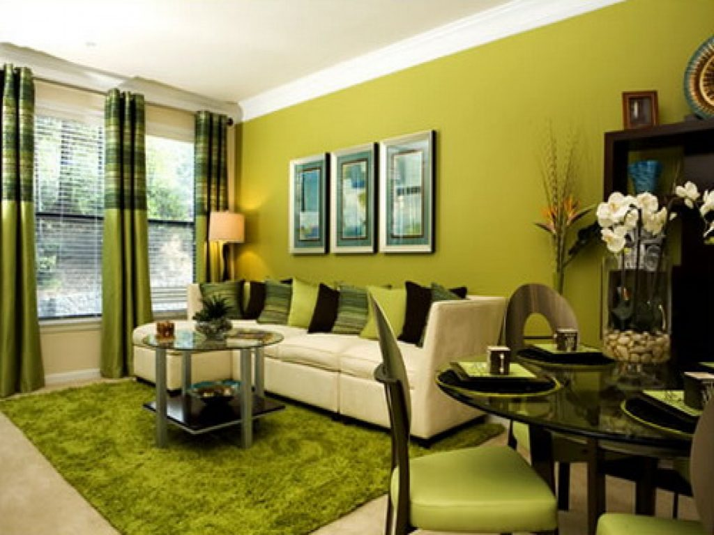 Lime Green Living Room Design With Fresh Color This For All Orange