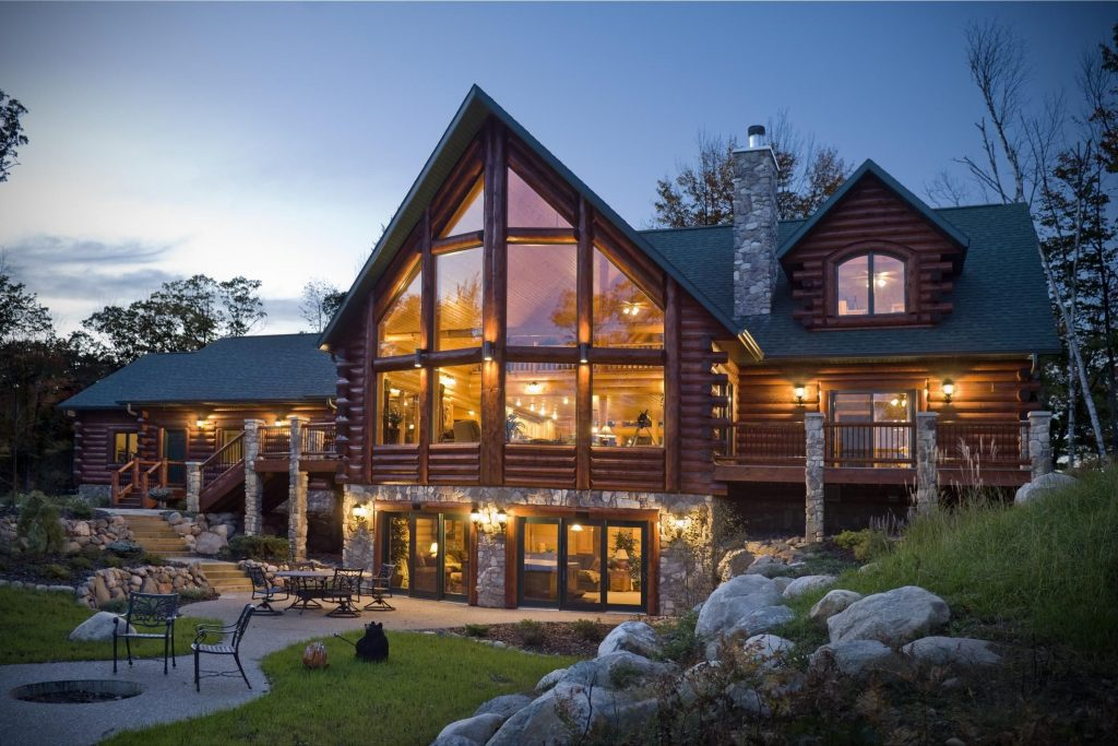 Living In A Log Home Cool Homes Cabin Homes Log Cabin Homes