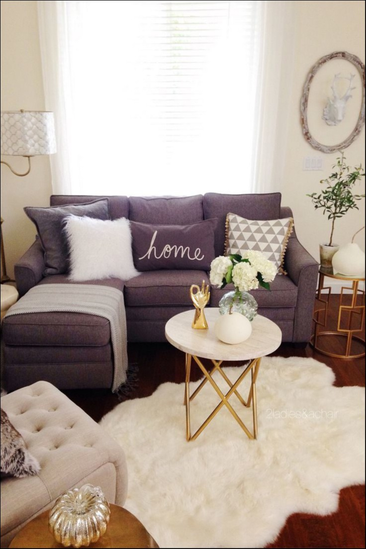 Living Room Decor On Pinterest Best Of Best Small Apartment Layjao