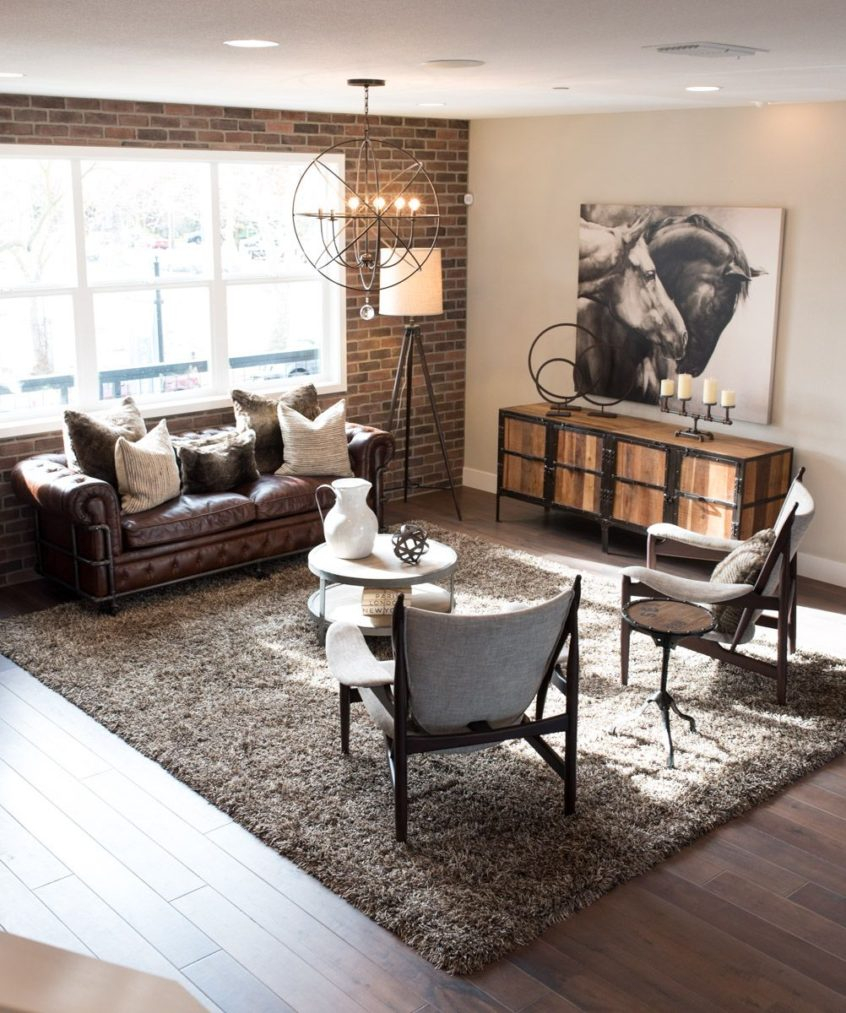 Living Room Ideas Industrial Rustic Decor Is The Design Trend You