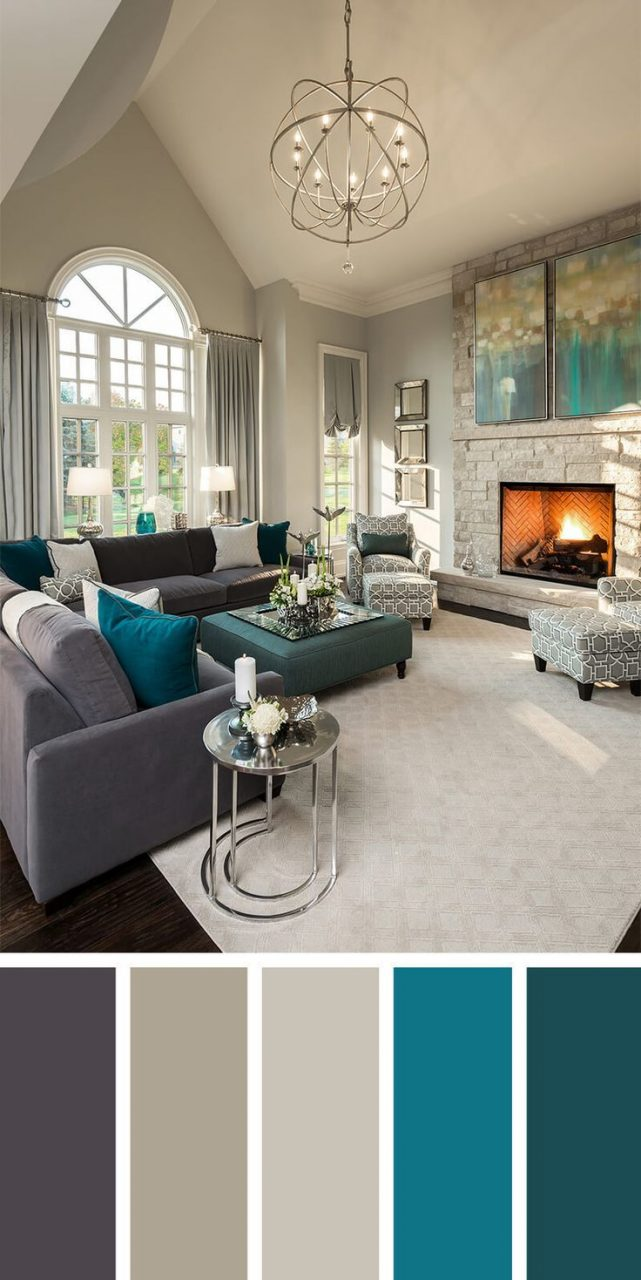Living Room Neutral Color Palette Interior Paint Colors In 2019