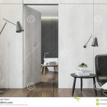 Master Bedroom With A Bathroom Stock Illustration Illustration Of