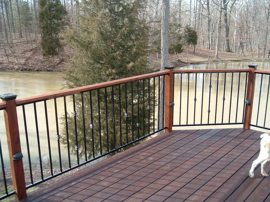 Metal Deck Railing Choices To Choose Resolve40com Designs Top 5