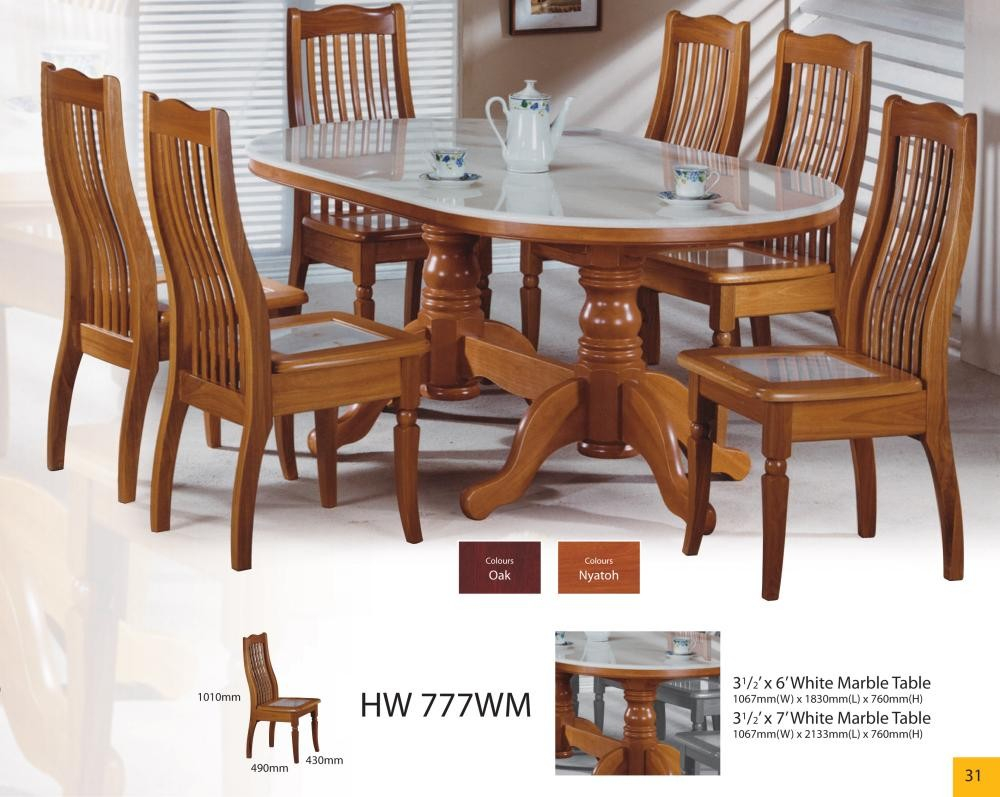 Modern Asian Design Solid Wood Dining Table Chairs With Natural Marble Top Hw 777wm Buy Oval Solid Wood Dining Tablemarble Top Dining Table And Layjao