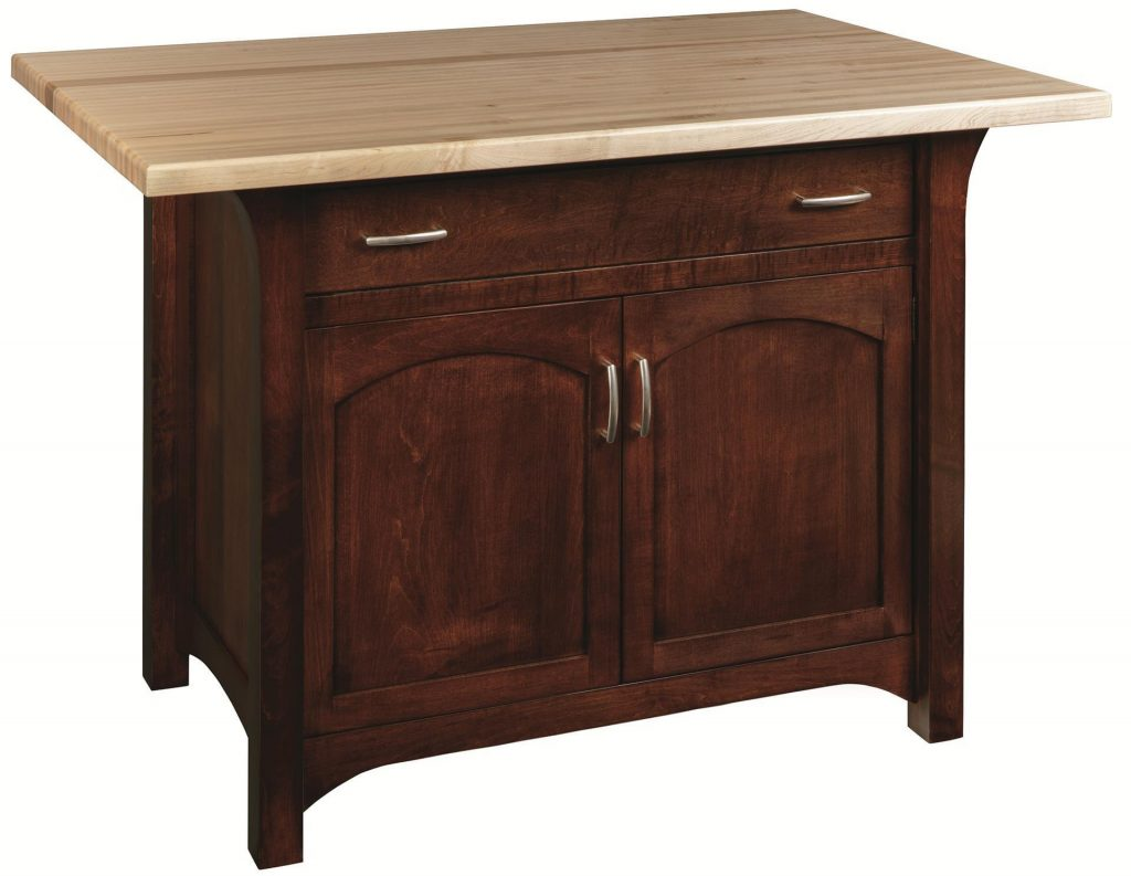 Monarch Kitchen Island With Optional Top From Dutchcrafters Amish