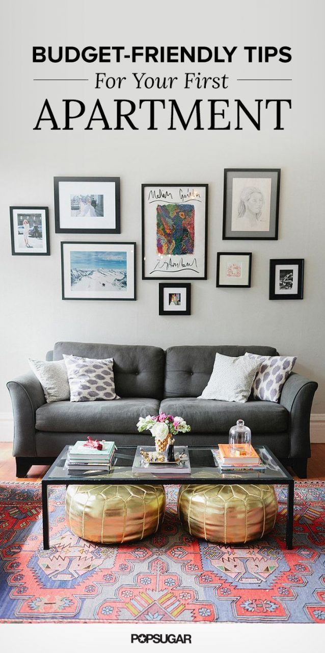 Money Saving Tips For Decorating Your First Apartment Budget