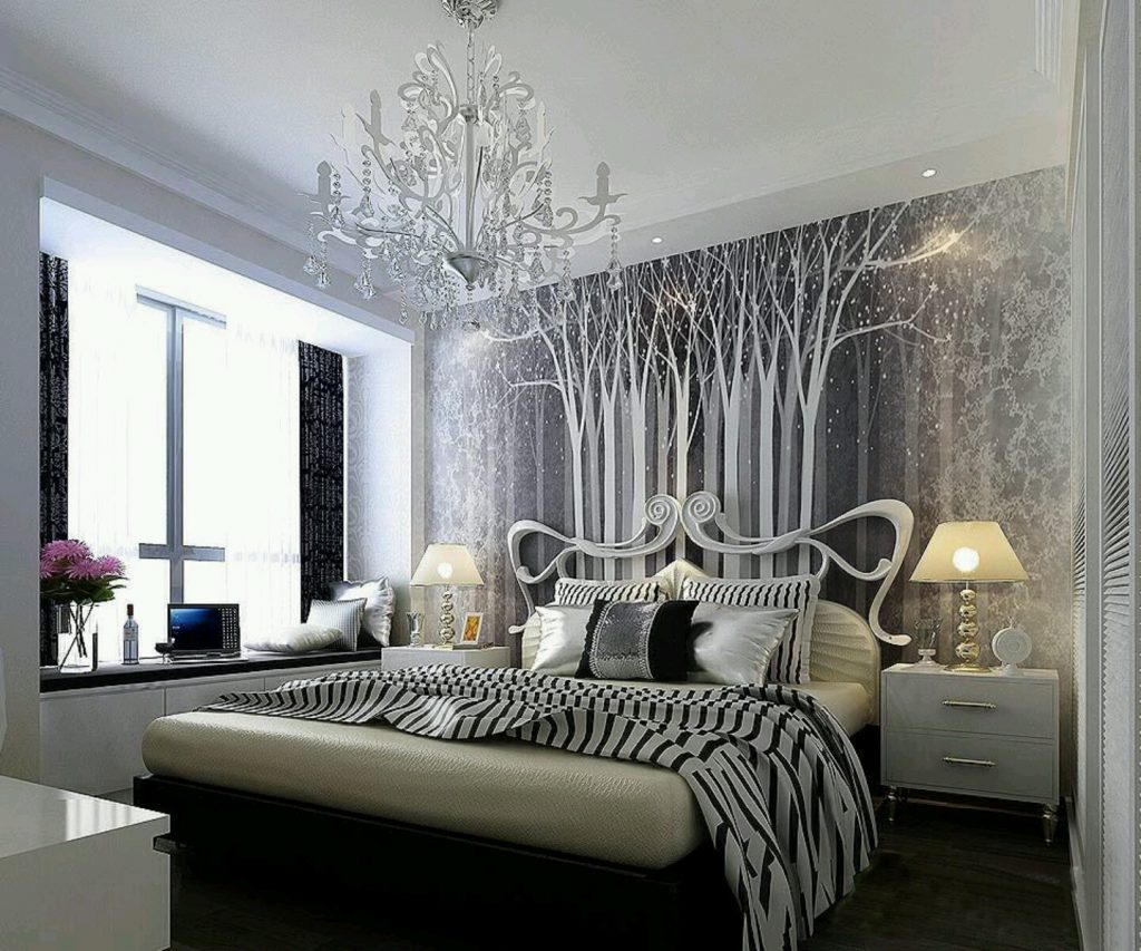 Monochrome Beautiful Rooms Design Simply Ba Bedding The