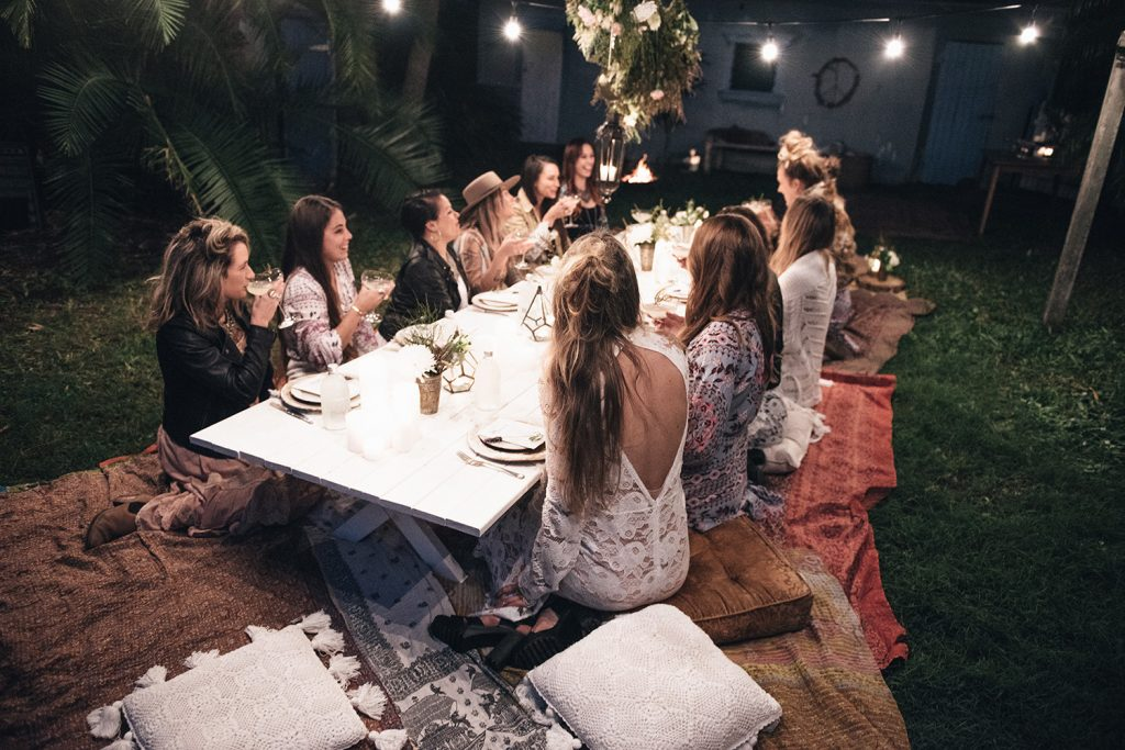Moon To Moon Spell How To Host A Bohemian Dinner Party