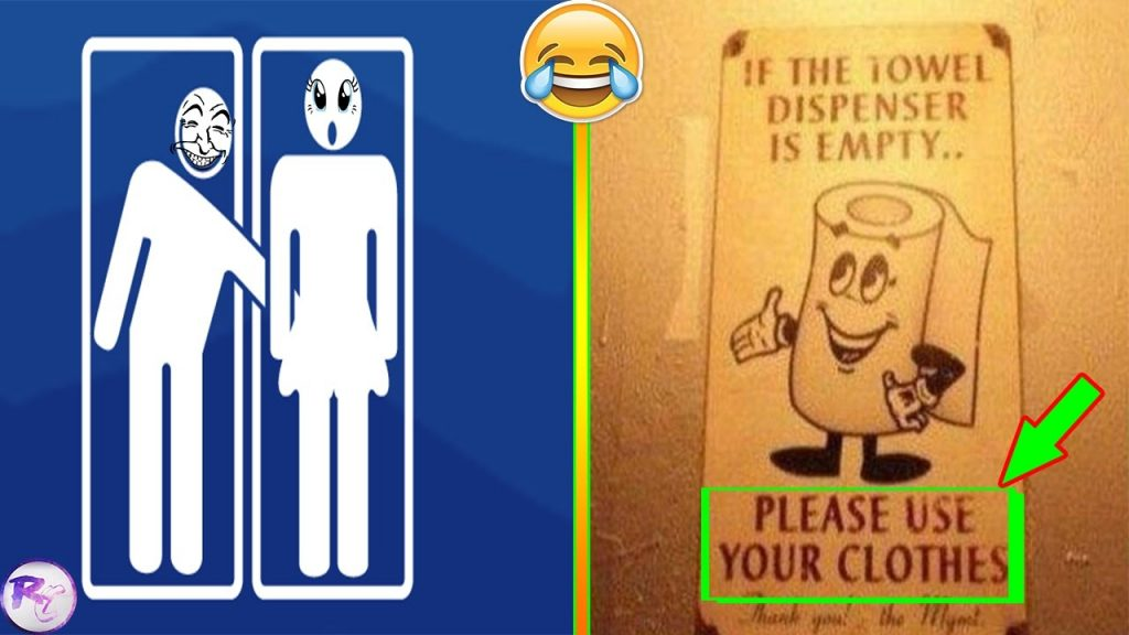Most Funniest Bathroom Signs