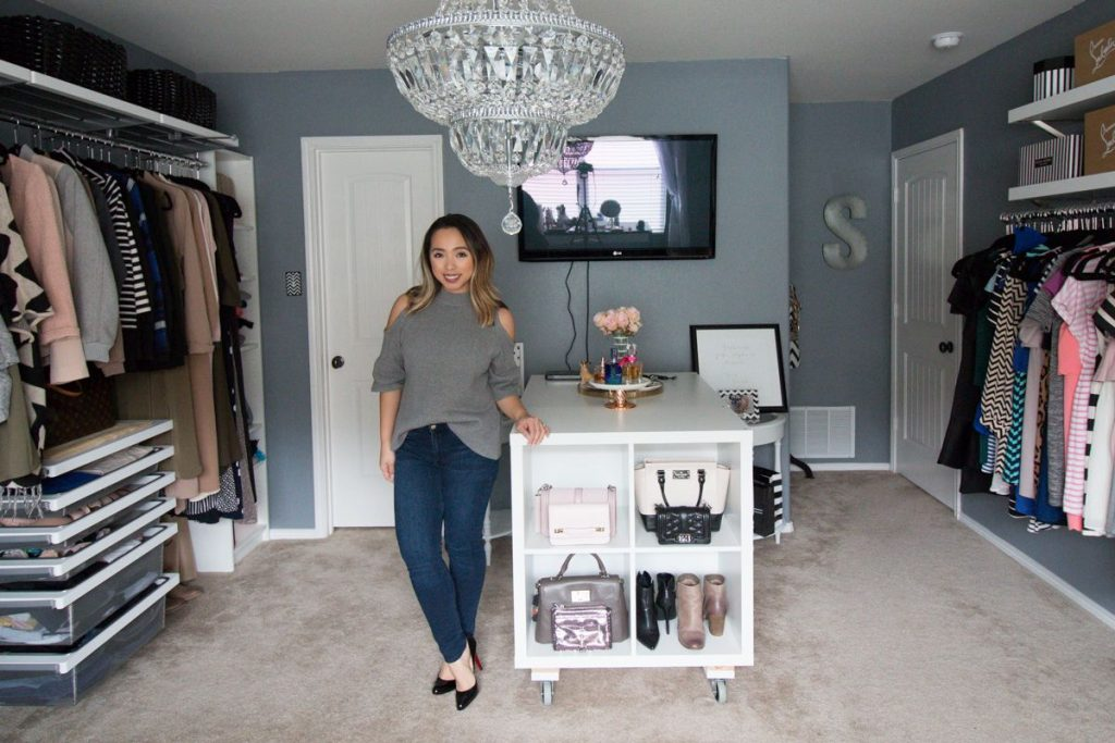 My Dream Walk In Closet Spare Bedroom Turned Dressing Room
