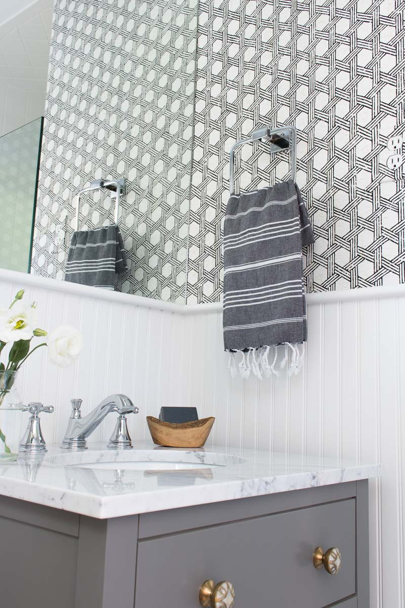 My Secret Weapon For Wallpapering Your Bathroom Driven Decor