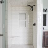 New Master Bathroom Tile Bathrooms Small Bathroom With Shower