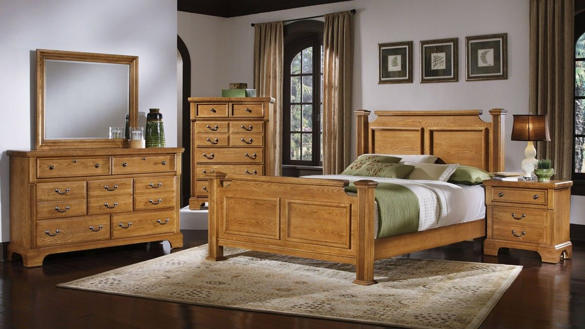 Oak Bedroom Furniture Sets Insanely Cozy Yet Elegant Bedroom