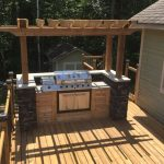 Backyard BBQ Deck