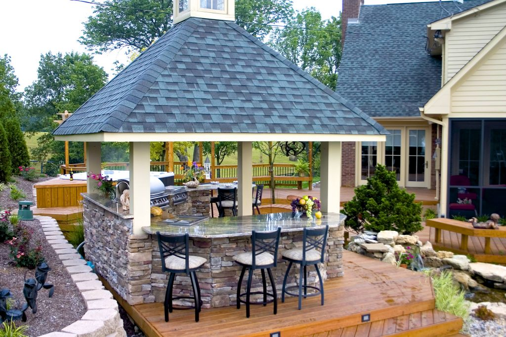 Outdoor Kitchens American Deck Sunroom