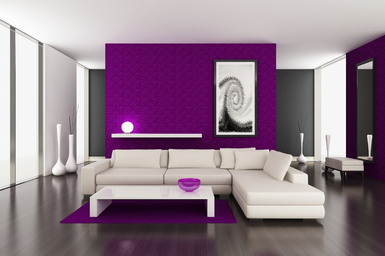 Paint Decorating Ideas Purple Wall Color Purple Paint Colors For Layjao