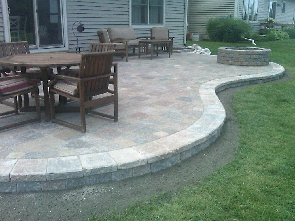 Paver Patio Designs Anatomy Of A Raised Brick Paver Patio Out My