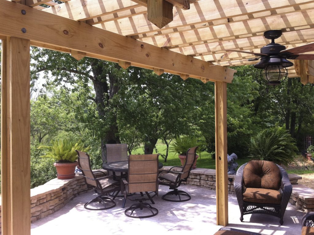 Pergolas American Deck Sunroom