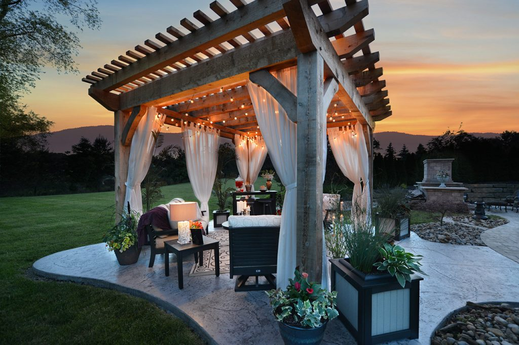 Pergolas Pavilions Gazebos Raber Patio Enclosures Furniture Llc