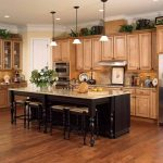 Light Brown Wood Kitchen Cabinets