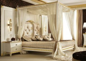 Canopy Bed Drapes