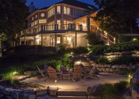 Lake House Outdoor Lighting Ideas