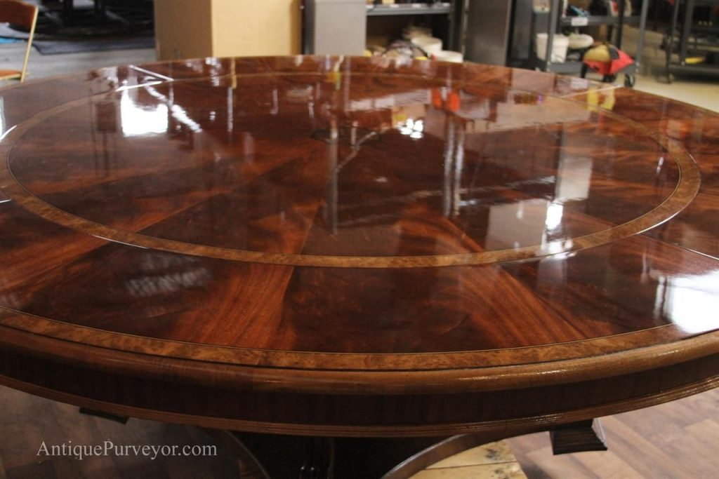 Pin N M On Dining Room Mahogany Dining Table Large Round