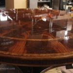 Extra Large Round Dining Table