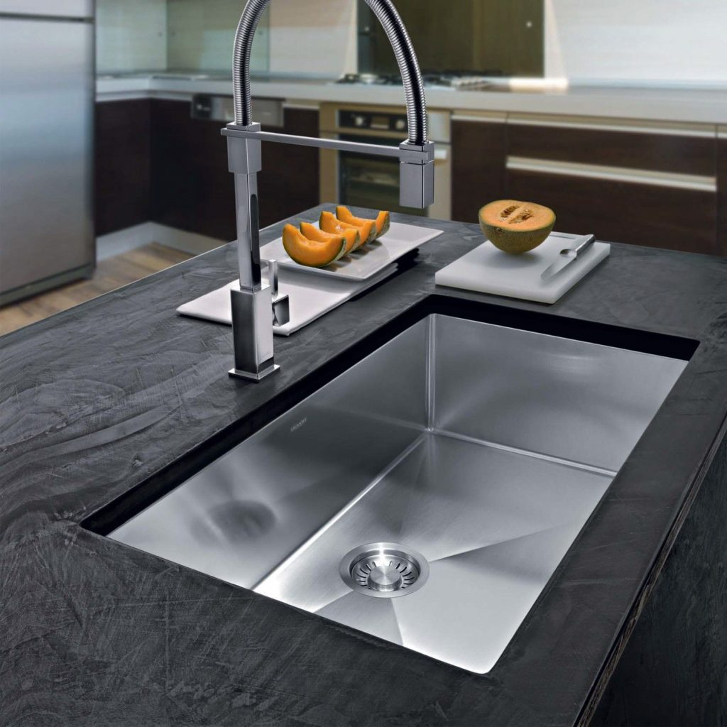 Pin Ybath On Modern Kitchen Sinks Single Bowl Kitchen Sink