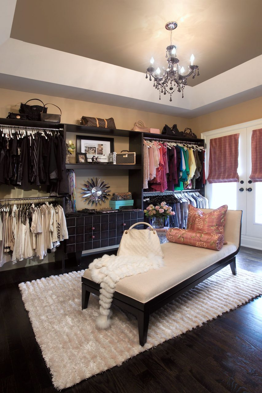 Real Life Inspiration Converting A Bedroom Into A Dressing Room