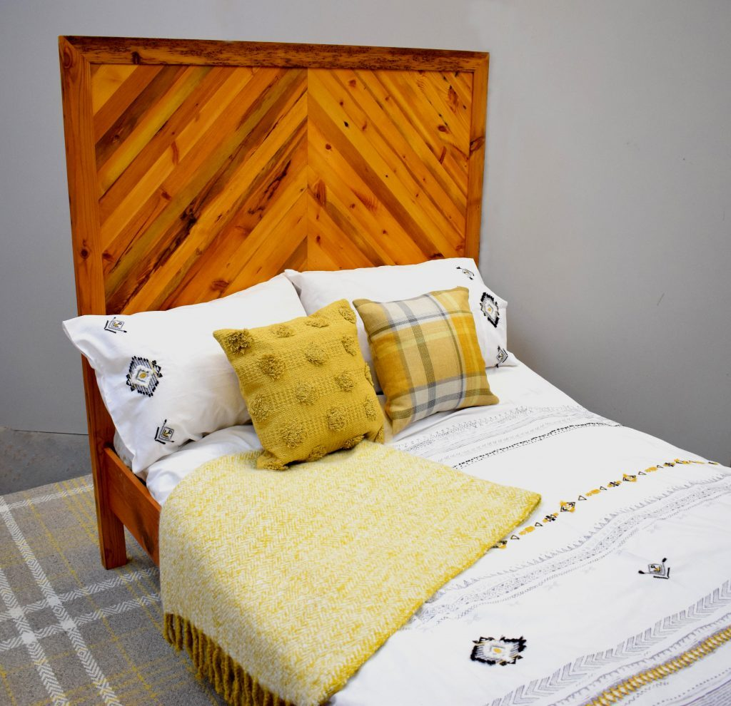 Reclaimed Wooden Bed Frame