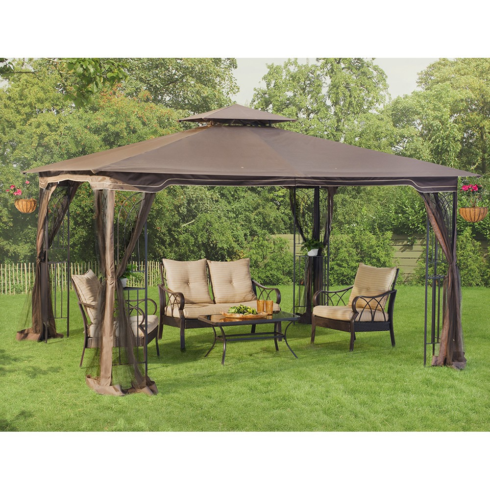Regency Gazebo Wdark Brown Canopy Warranty Parts