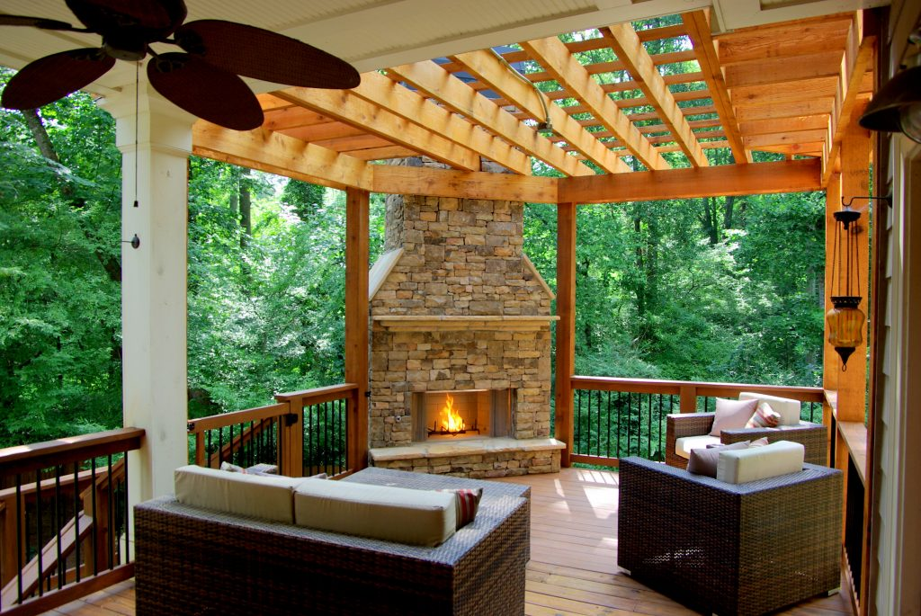 Related Keywords Suggestions For Outdoor Deck Fireplace Deck With