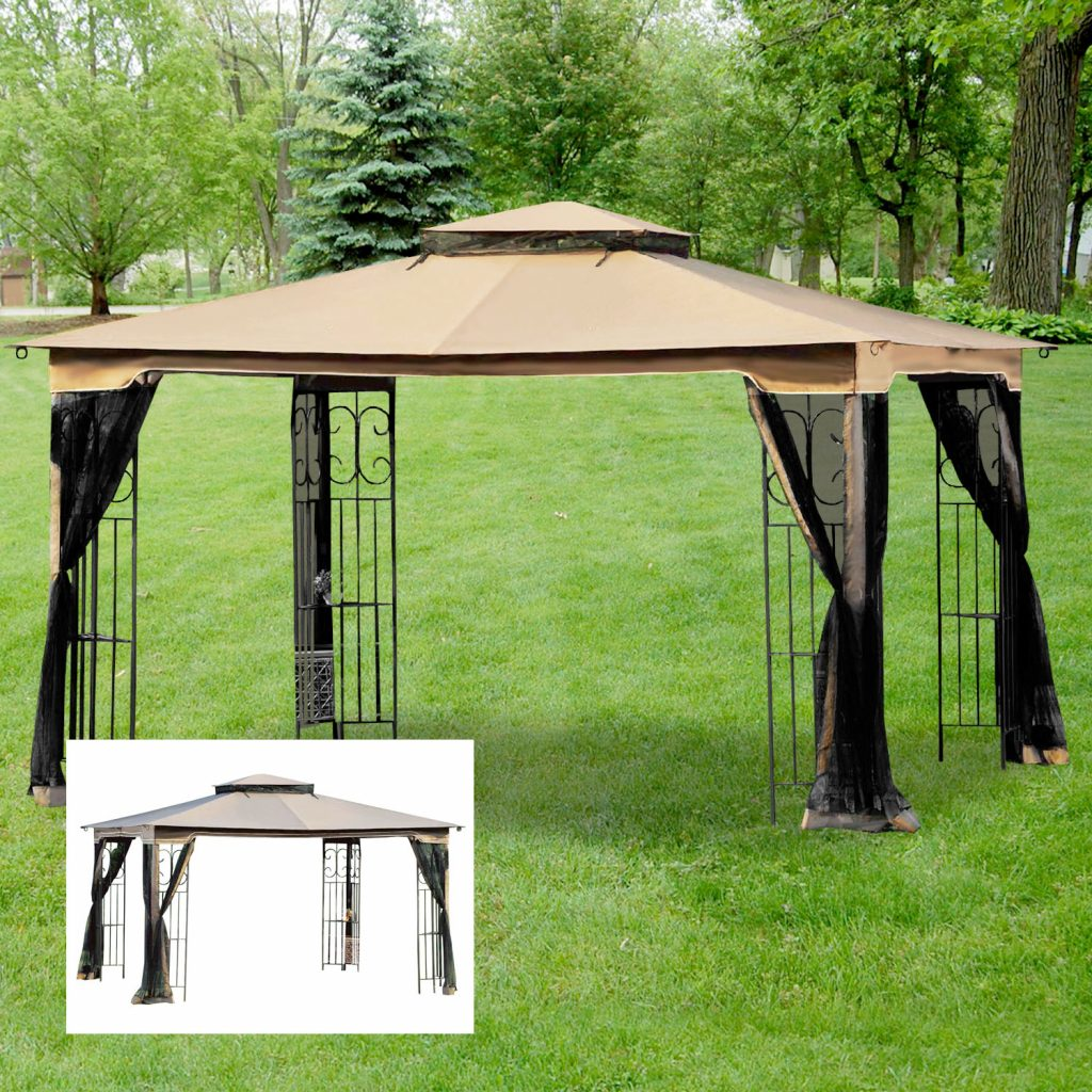 Replacement Canopy For Regency Ii Gazebo Riplock 350 Garden Winds