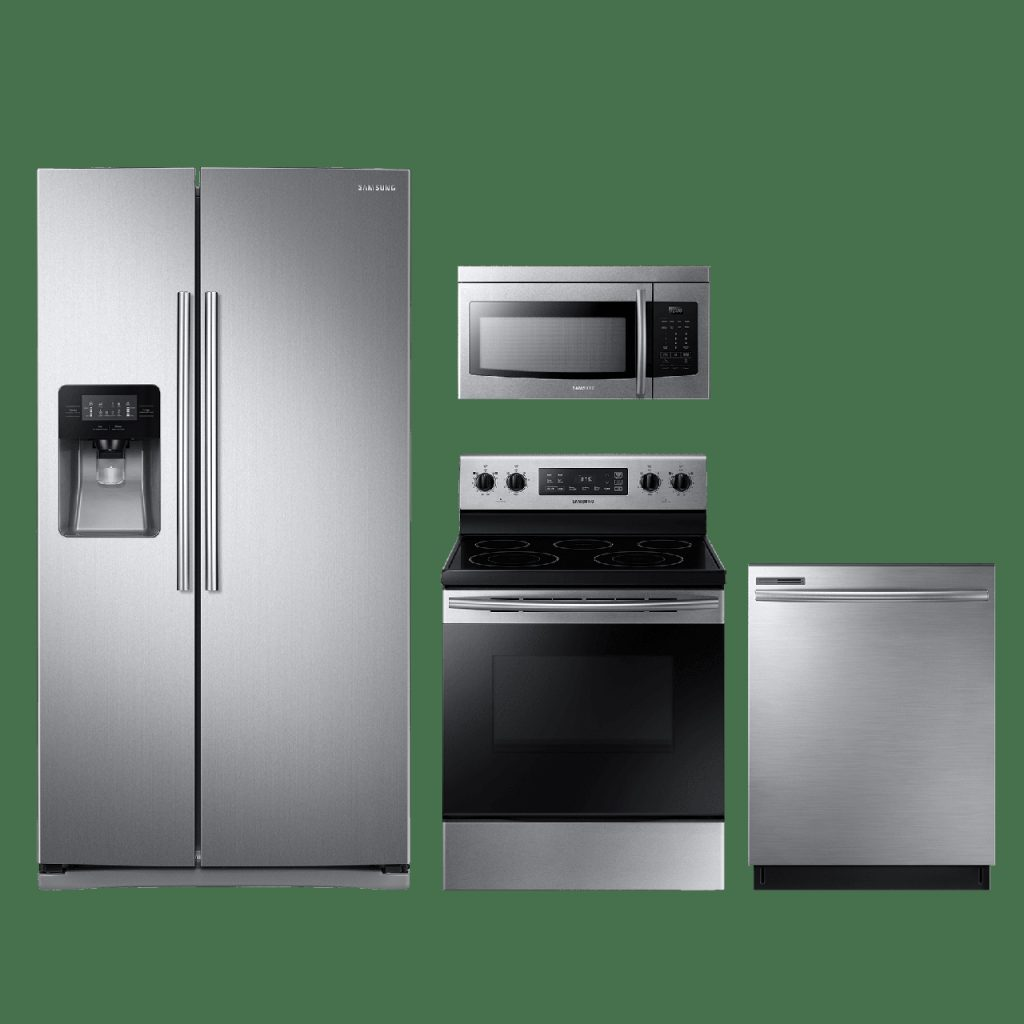 Reviews For Samsung 4 Piece Kitchen Package Stainless Steel