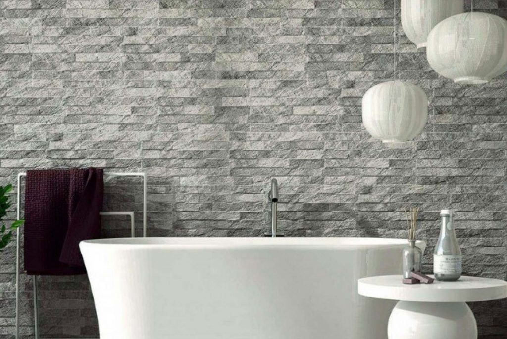 Ribera Grey Slate Effect Wall Tile