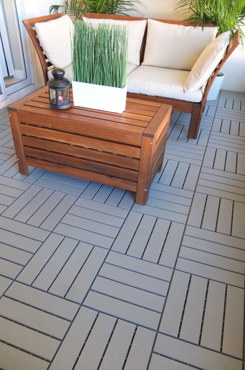 Runnen Decking Outdoor Gray Ikea Home Tour Makeovers Patio