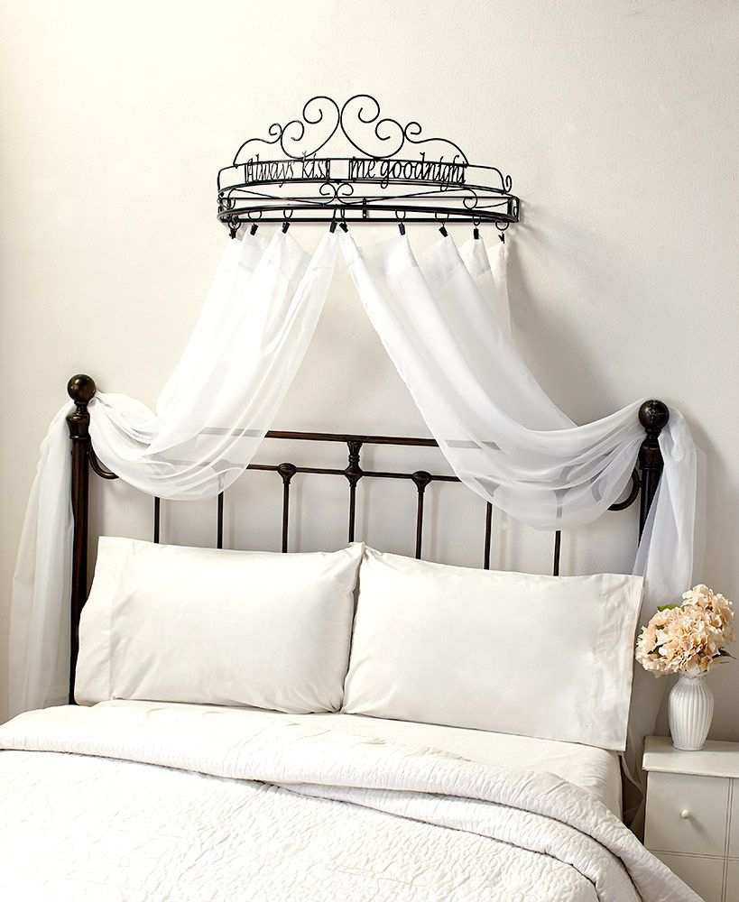 Sentiment Bed Crown Curtain Holders In 2019 Raven Wish List 69