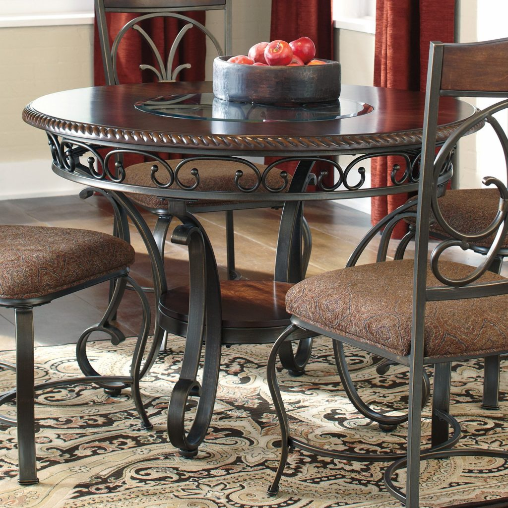 Signature Design Ashley Glambrey Round Dining Table