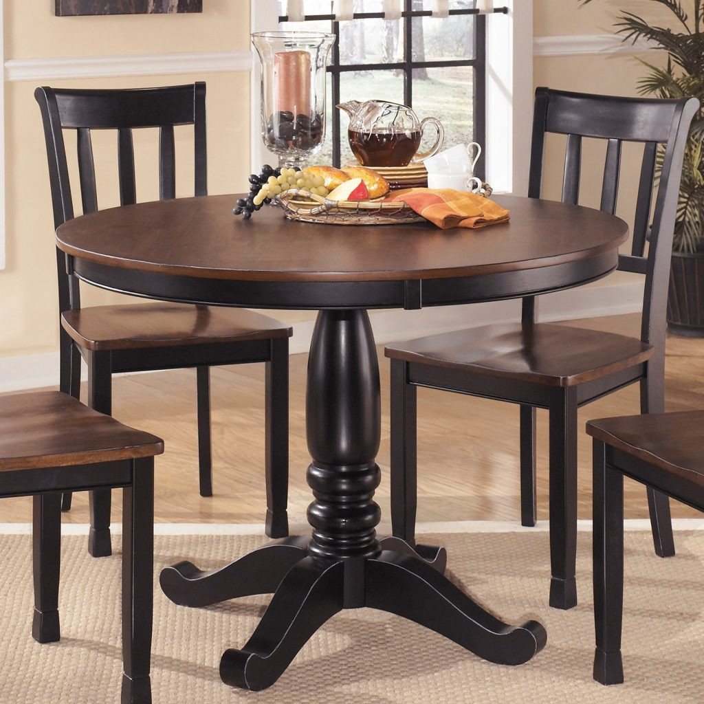 Signature Design Ashley Round Dining Room Table